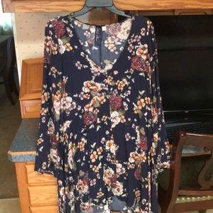 Francesca's floral shift dress